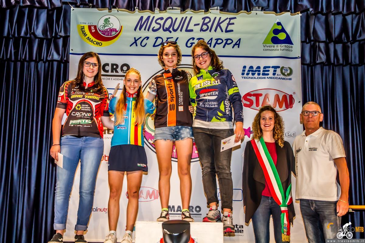 29a Misquil Bike Memorial Maurizio Scandiuzzi - Mussolente - 15/05/2016 podio donne esordienti 1°anno