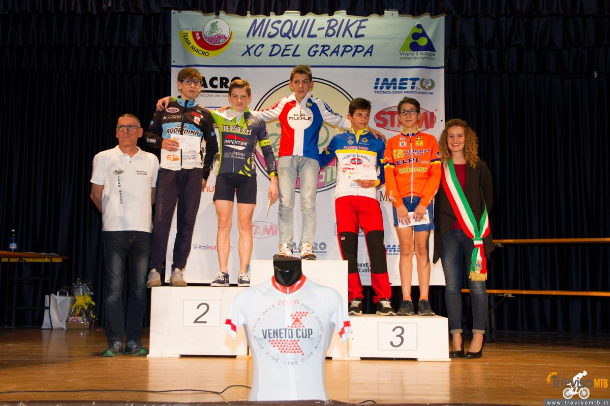 29a Misquil Bike Memorial Maurizio Scandiuzzi - Mussolente - 15/05/2016 podio esordienti 1°anno
