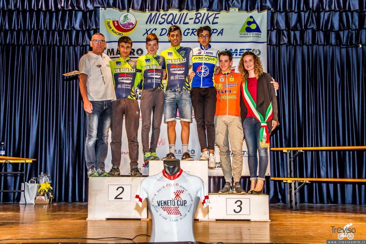 29a Misquil Bike Memorial Maurizio Scandiuzzi - Mussolente - 15/05/2016 podio allievi 2°anno
